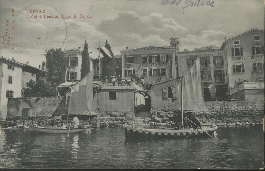 Torbole, Hotel e pension lago di Garda.