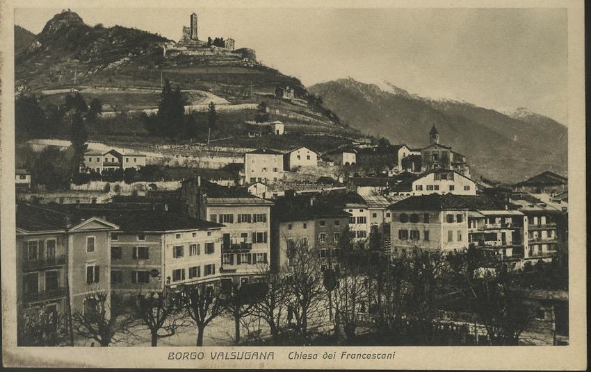 Boego Val Sugana, Chiesa dei francescani.