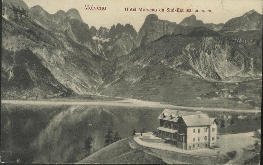 Molveno, Hotel Molveno.