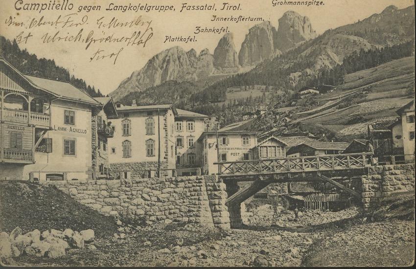 Campitello, Fassatal Tirol.