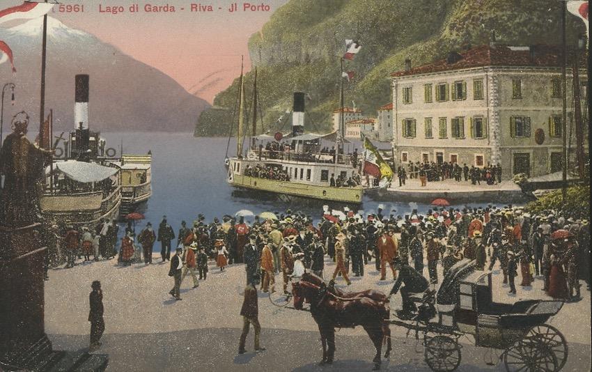 Lago di Garda - Riva - Il Porto.