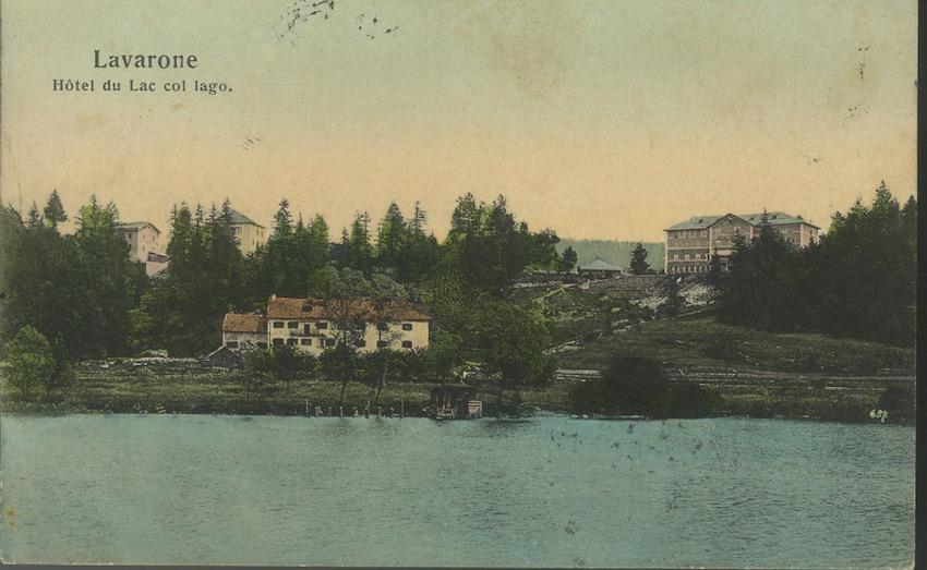 Lavarone, Hotel du Lac col lago.