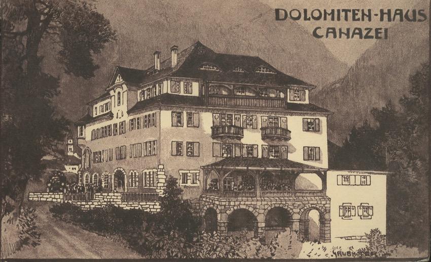 Dolomiten-Haus, Canazei.