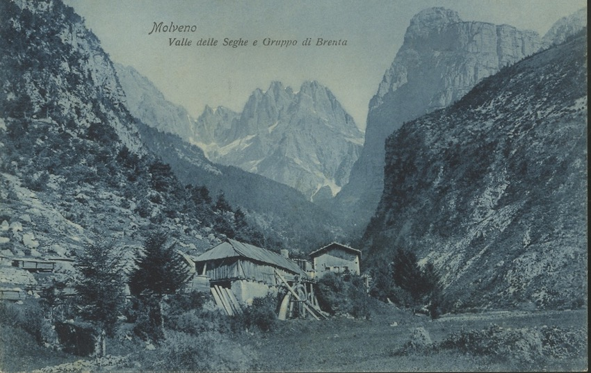 Molveno - Valle delle Seghe e Gruppo di Brenta.