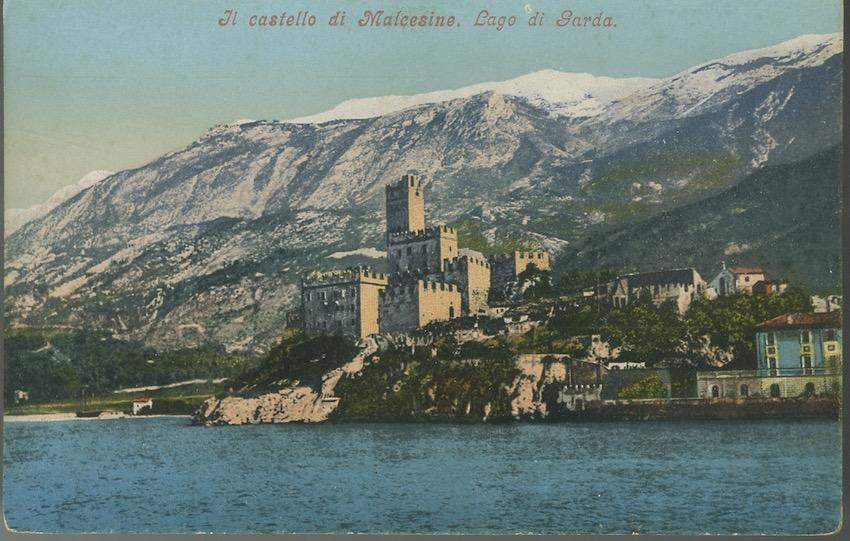 Il castello di Malcesine. Lago di Garda.