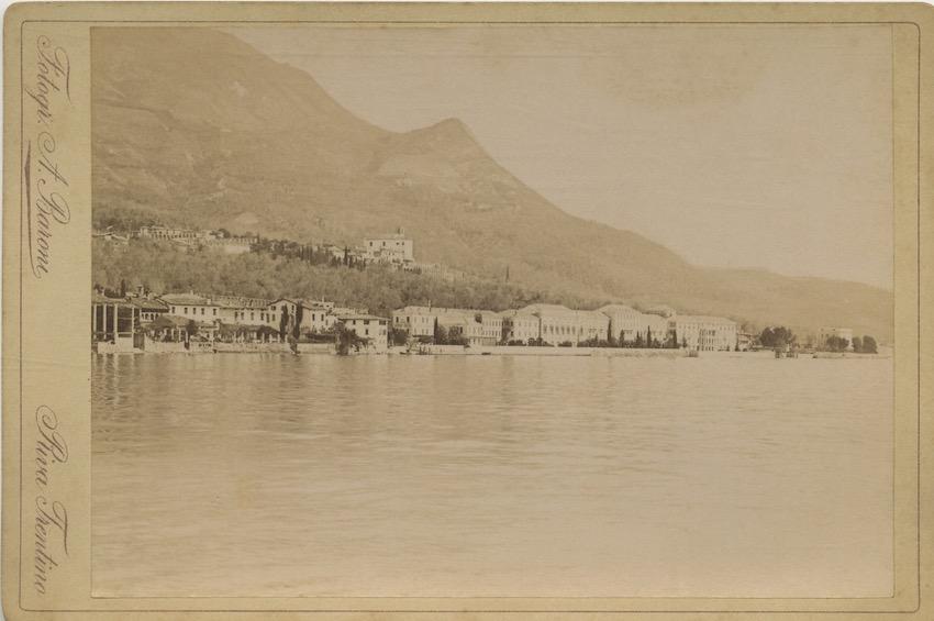 Gardone Riviera sul Lago di Garda.