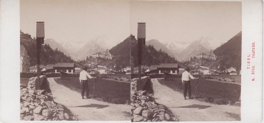 N. 2742 Tirol - Taufers.