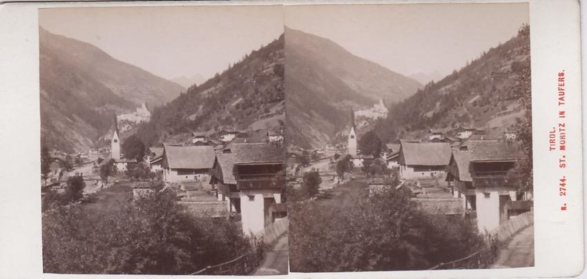 N. 2744 Tirol - St. Moritz in Taufers.