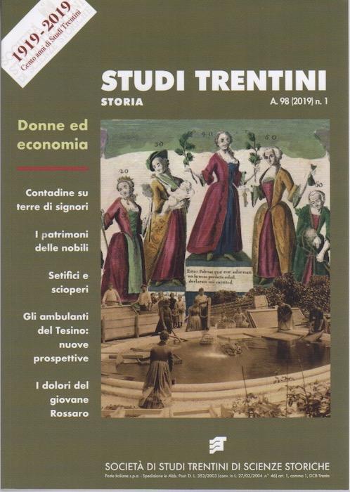 Studi trentini storia: Donne ed economia.