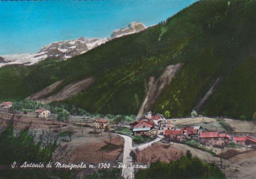 S. Antonio di Mavignola m. 1300 - Panorama.