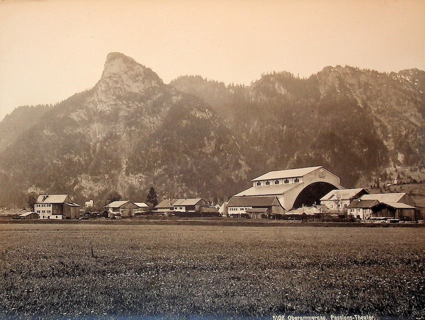 5108. Oberammergau. Passions-Theater.