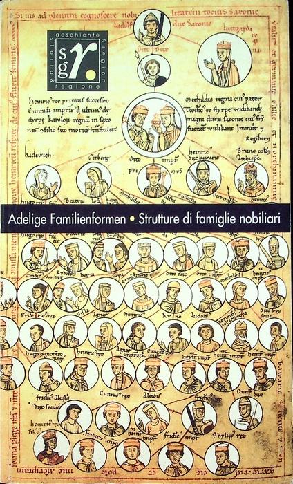 Adelige Familienformen im Mittelalter = Strutture di famiglie nobiliari nel Medioevo.