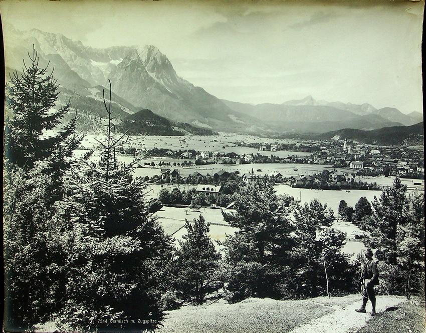 7544. Garmisch m. Zugspitze.