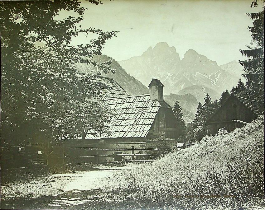 15925. Partie b. Gstatterboden, Gesäuse.