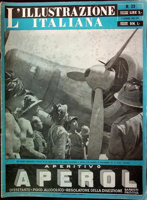 L'illustrazione italiana: N. 23 (7 giugno 1942-XX).