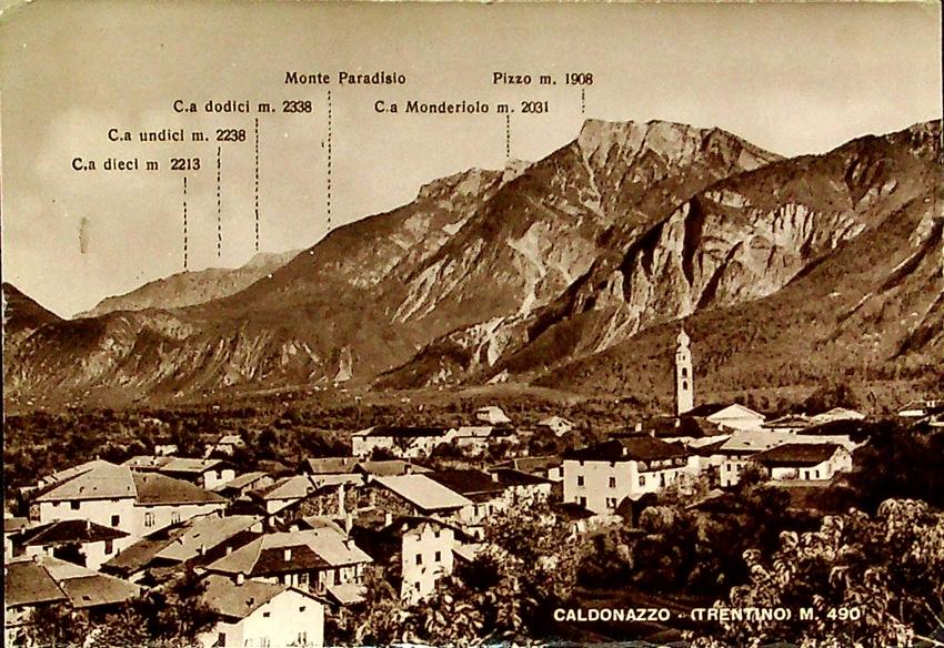 Caldonazzo - (Trentino) m. 490.