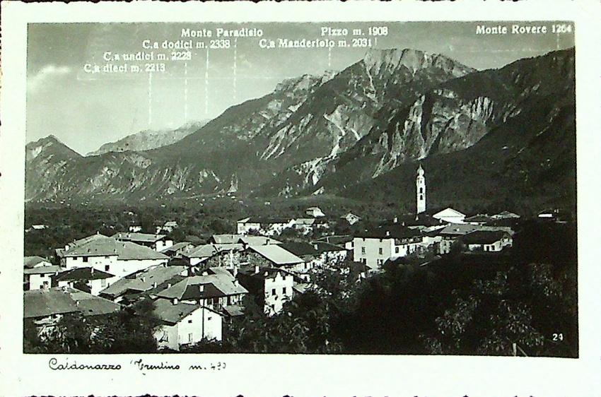 Caldonazzo (Trentino) m. 490.