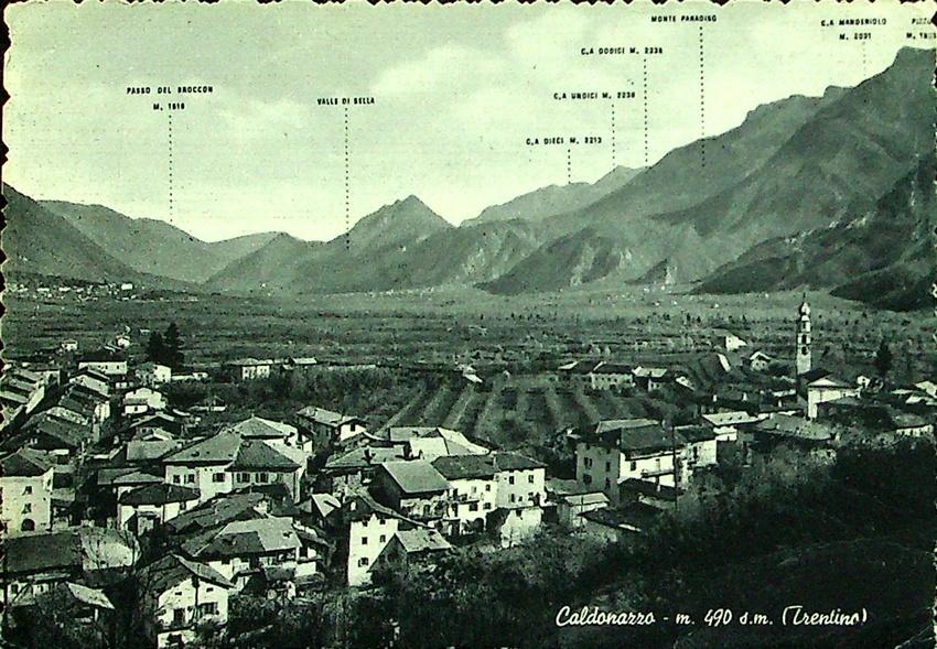 Caldonazzo - m. 490 d. m. (Trentino).
