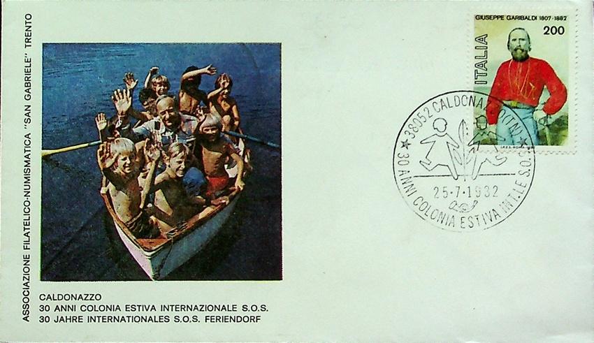 Caldonazzo - 30 anni colonia estiva internazionale S. O. S.