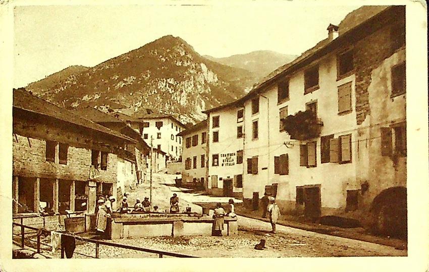 Stenico - Via Giuseppe Garibaldi.