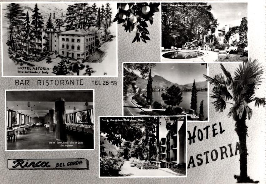 Bar Ristorante Hotel Astoria, Riva del Garda.
