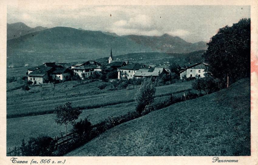Tavon (m. 866 s.m.), Panorama.