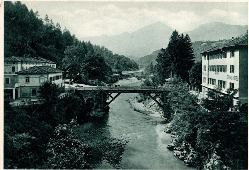 Terme di Comano - Trentino. Panorama.