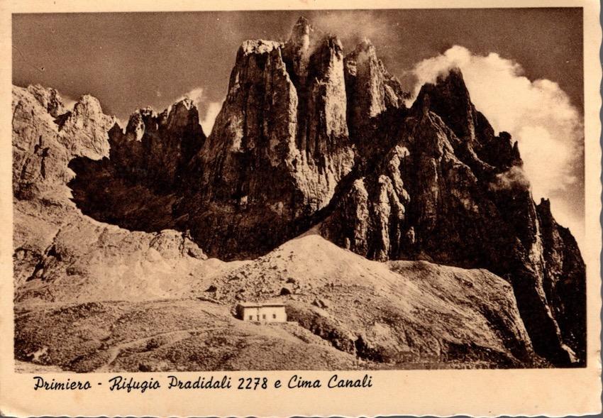 Primiero - Rifugio Pradidali 2278 e Cima Canali.