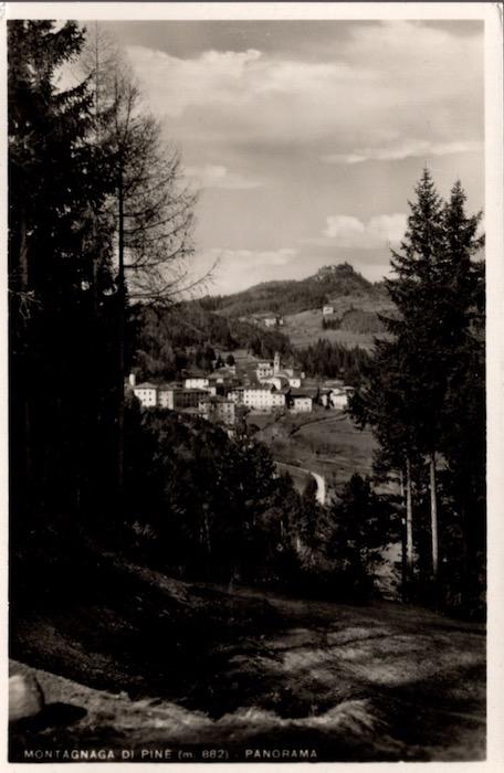 Montagnaga di Pinè (m. 882) - Panorama.
