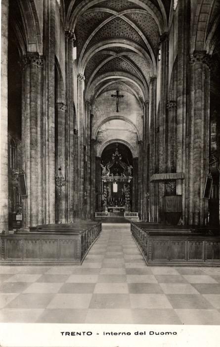 Trento - Interno del Duomo.