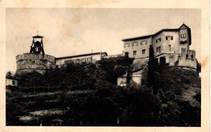 Rovereto - Il Castello, sede del Museo Storico di Guerra e della Monumentale Campana dei Caduti.
