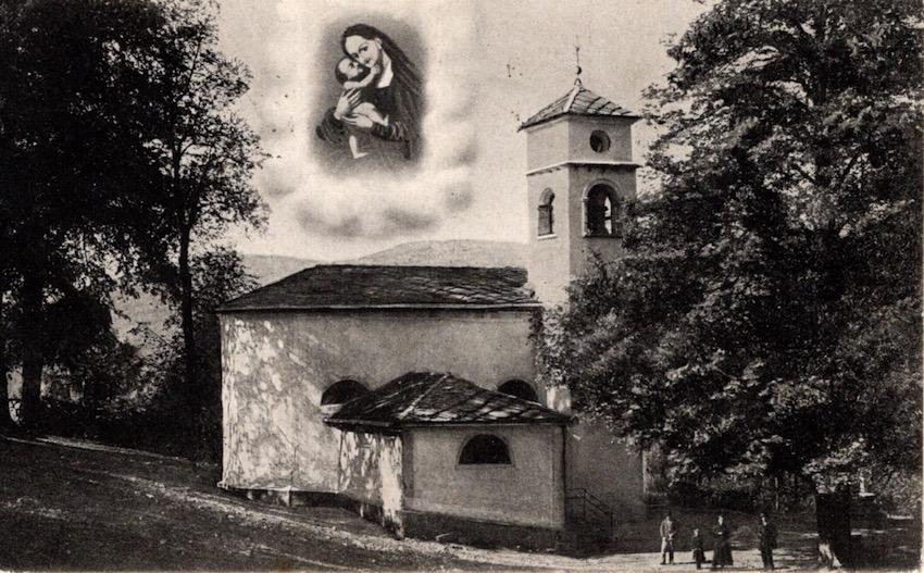 Santuario della Madonna dell'Aiuto, Segonzano m. 850.