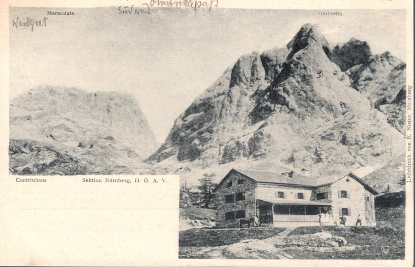 Marmolata, Contrinhaus.
