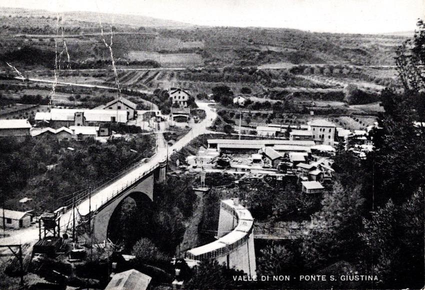 Valle di Non - Ponte S. Giustina.