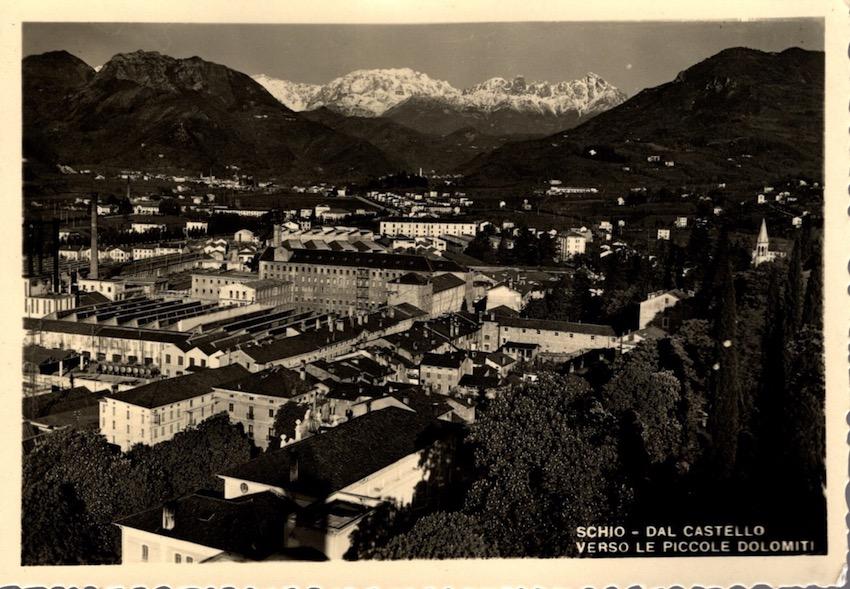 Schio - Dal Castello, Verso le Piccole Dolomiti.