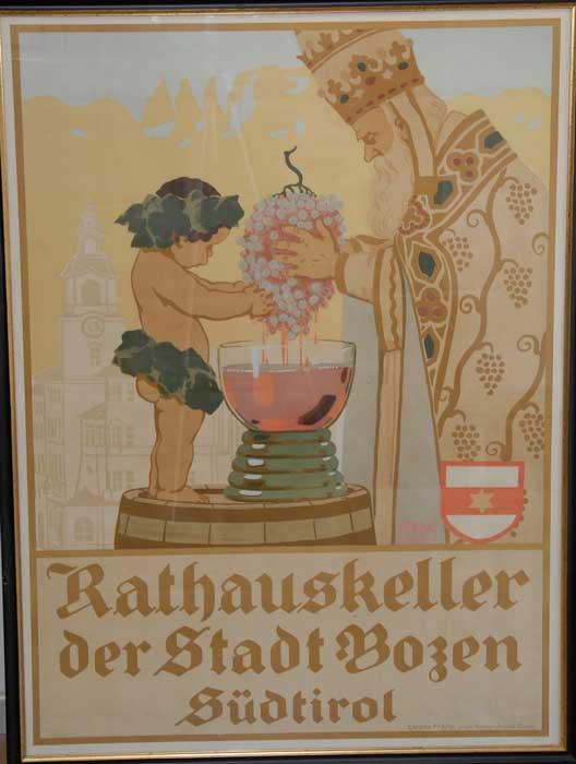 Rathauskeller der Stadt Bozen: Südtirol.