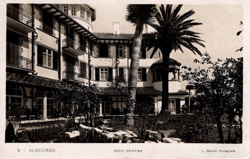 Algeciras, Hotel Cristina.