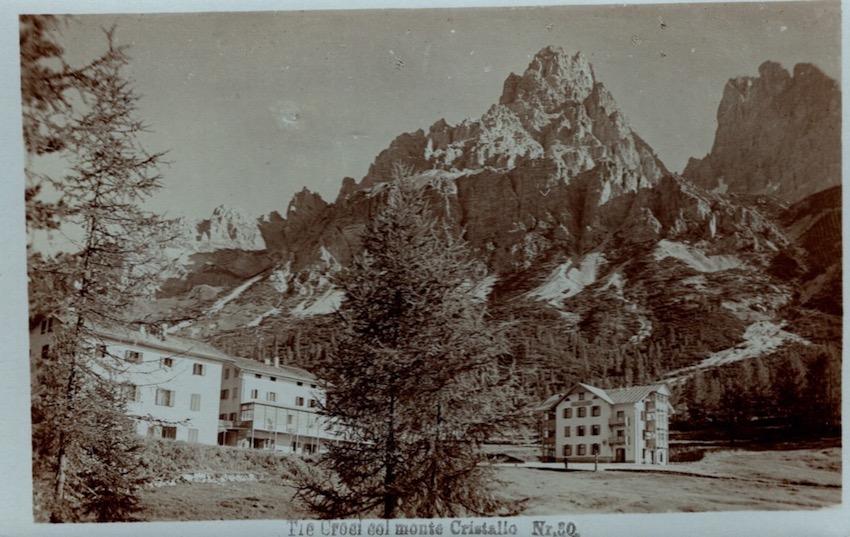 Tre Croci col Monte Cristallo.