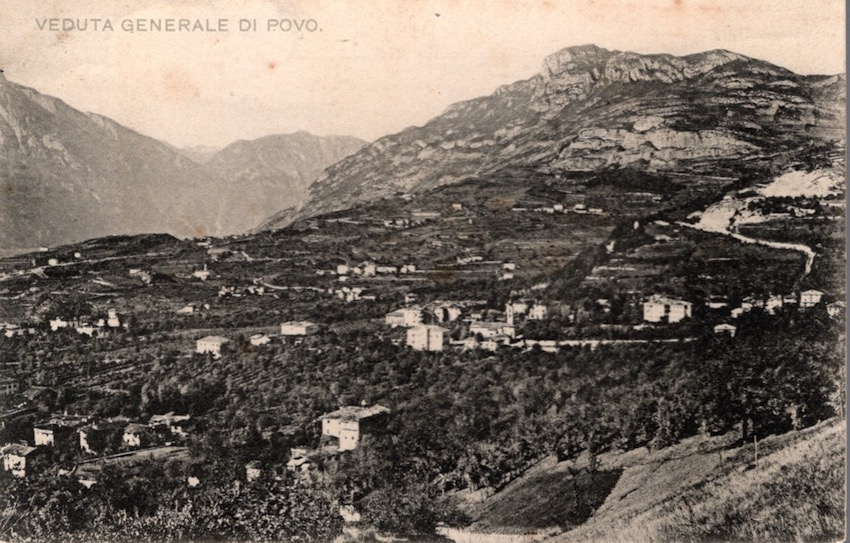 Veduta Generale di Povo.