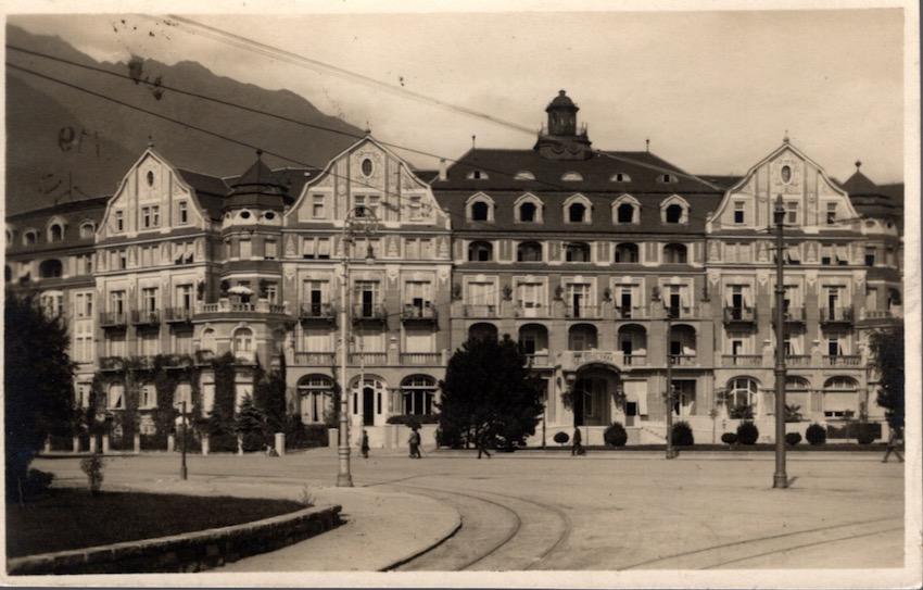 Merano. Grand Hotel Emma.