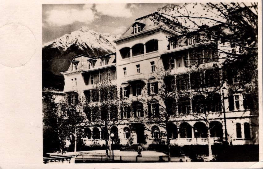 Hotel Metropole, Merano.