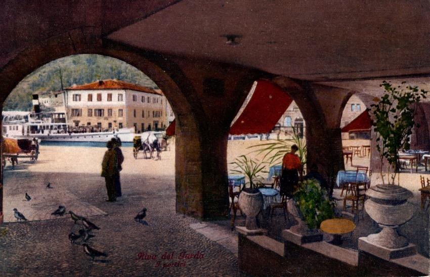 Riva del Garda, Portici.