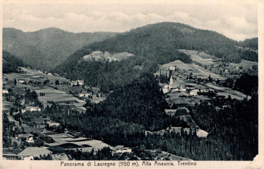 Panorama di Lauregno (1150 m.)