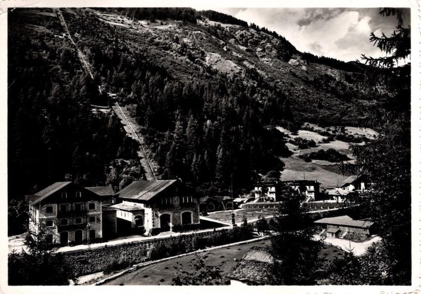 Cogolo in Val di Pejo m. 1173 (Trentino), La Centrale elettrica.