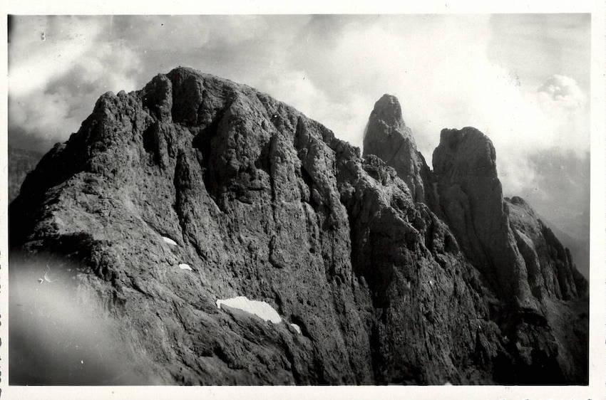 Pale di S. Martino - Cima di Ball - Sass Maor e Cima Madonna dal Campile Val di Roda.