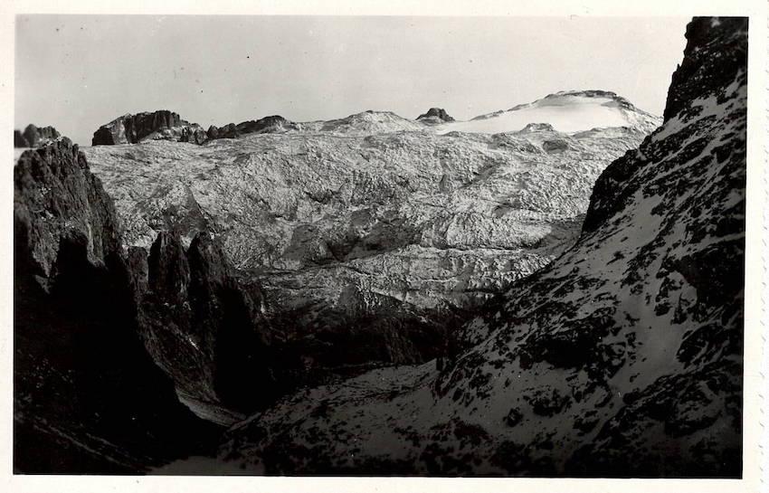 Pale di S. Martino - Ghiacciaio Fradusta dalla Val dei Cantoni.