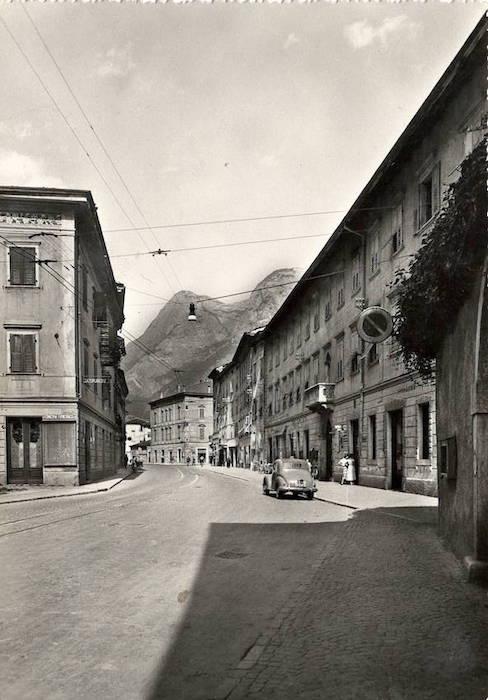 Mezzolombardo m. 230 (Trento) - Corso Mazzini.
