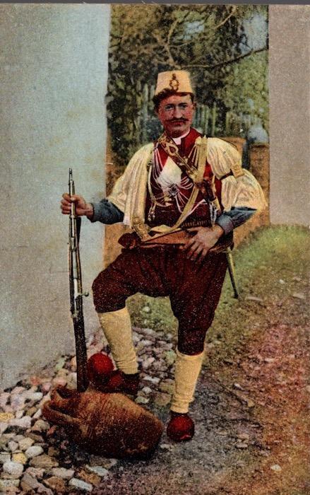 Cavas (Soldato Albanese).