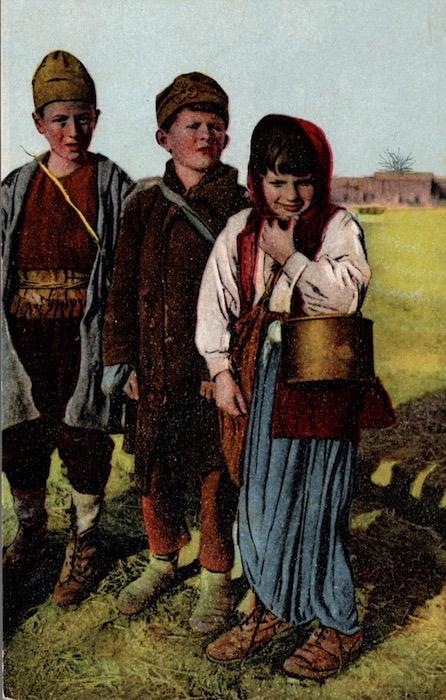 Bambini Albanesi.
