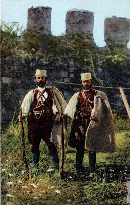 Due Capi di bande della Malakastra (Albania).
